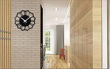 Часы настенные металлические в стиле лофт - Rome 30, фото 3