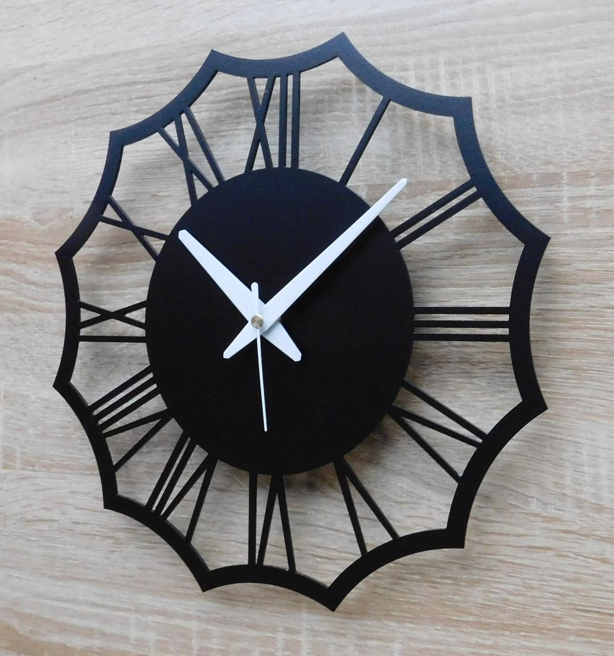 Часы настенные металлические в стиле лофт - Rome 30