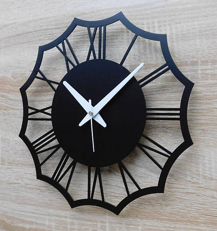 Часы настенные металлические в стиле лофт - Rome 30, фото 2