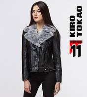 11 Kiro Tokao | Женская куртка демисезонная 4970 черный