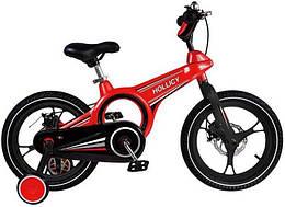 Дитячий двоколісний велосипед Hollicy 16 дюймів червоний