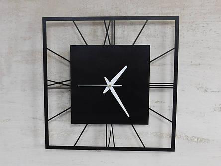 Часы настенные металлические в стиле лофт - Rome 375, фото 2