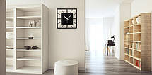 Часы настенные металлические в стиле лофт - Rome 375, фото 3