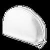 Женская косметичка серебристого цвета