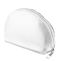 Женская косметичка серебристого цвета , фото 1