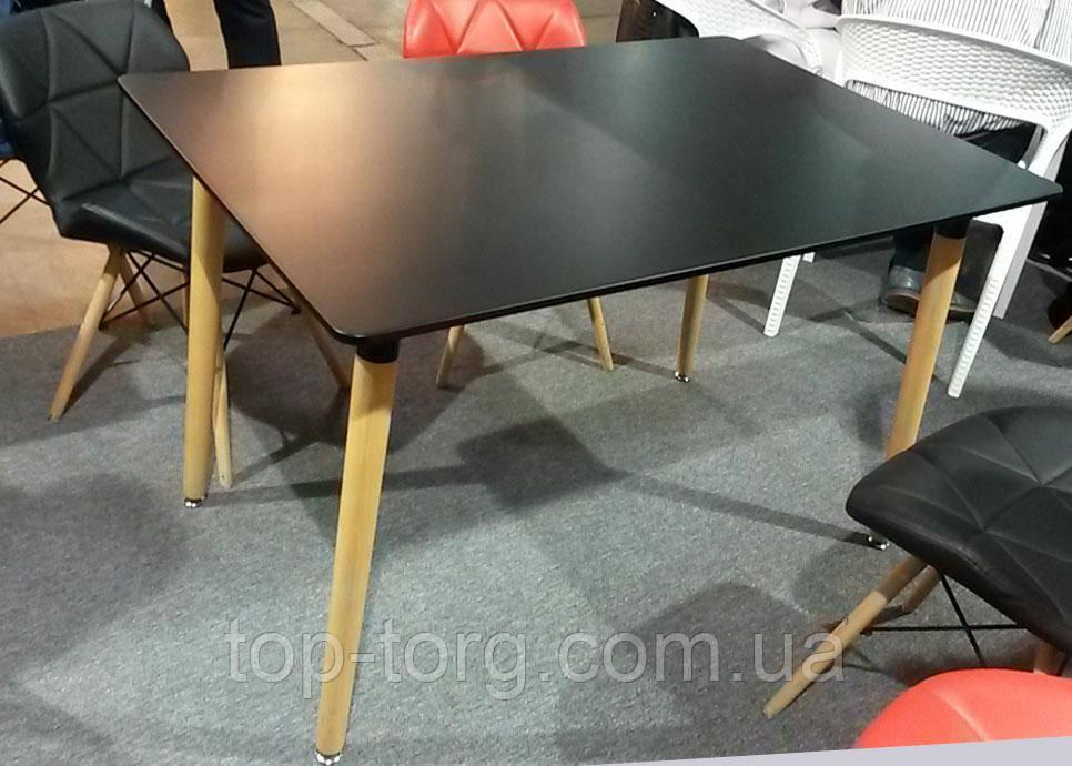 Стол прямоугольный NOLAN DT-9017 черный , нераскладной