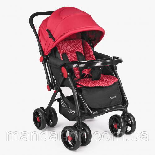 Прогулочная детская коляска Bambi M 3655-3 Красная, фото 1