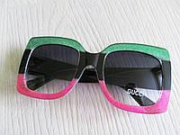 Солнцезащитные очки бренд реплика Гуччи