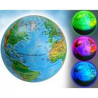 Глобус с 7 цветами подсветки