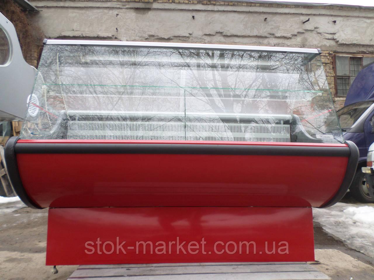 Витрина  РОСС Rimini 1.50 м. б/у., гастрономическая витрина бу.