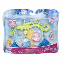 Игровой набор для маленьких кукол Принцесс Карета Золушки (B5345)