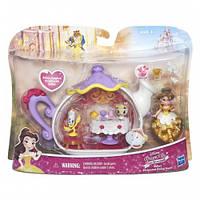 Игровой набор для маленьких кукол Принцесс Комната для чаепития Белль (B5346)