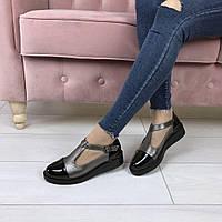Туфли модные  шлейка