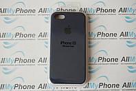 "Накладка оригинальная ""Apple Silicone Case"" для iPhone 5 / 5S Midnight Blue, фото 1"