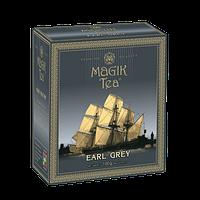 Чорний листовий чай з ароматом бергамоту «Magik Tea Elite Earl Grey», 100г