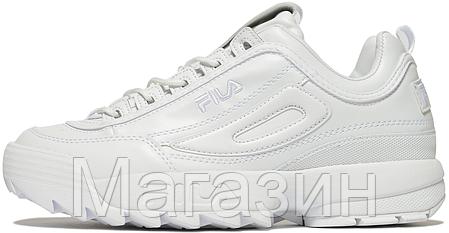 9825ede14cef Женские кроссовки Fila Disruptor 2 White Фила Дисраптор 2 белые