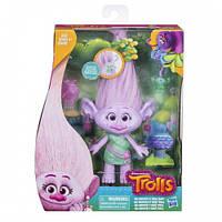 TRS Тролли среднего размера с аксессуарами для волос E0356 TRS GLITTER GIRL WITH BABIES IN HAIR