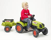 Трактор CLAAS ARION 410 c прицепом Falk2040C