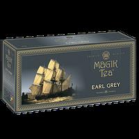 Чорний чай з ароматом бергамота у фільтр-пакетах «Magik Tea Elite Earl Grey», 25ф/п