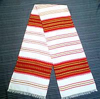 Весільний рушник з орнаментом Черемош Червоний 200*34см