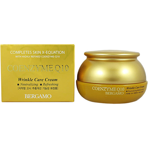 Антивозрастной крем для лица Q10 Bergamo Coenzyme Q10 Wrinkle Care Cream, 50ml