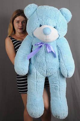 """Плюшевый мишка """"Рафаэль"""", голубой, 120 см."""