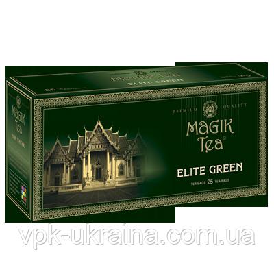 Зелений чай у фільтр-пакетах «Magik Tea Elite Green» (25ф/п)