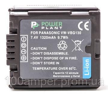 Аккумулятор PowerPlant Panasonic VW-VBG130 Chip 1320mAh