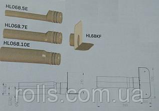HL68F.0 Парапетная воронка с фланцем и отводящей трубой из ПП