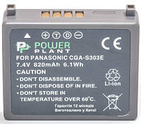 Аккумулятор PowerPlant Panasonic VW-VBE10, CGA-S303 820mAh