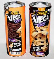 Игра Vega Extreme (мини), Дженга, Вега, Jenga, Danko Toys, VGE-01 (54 бруска)