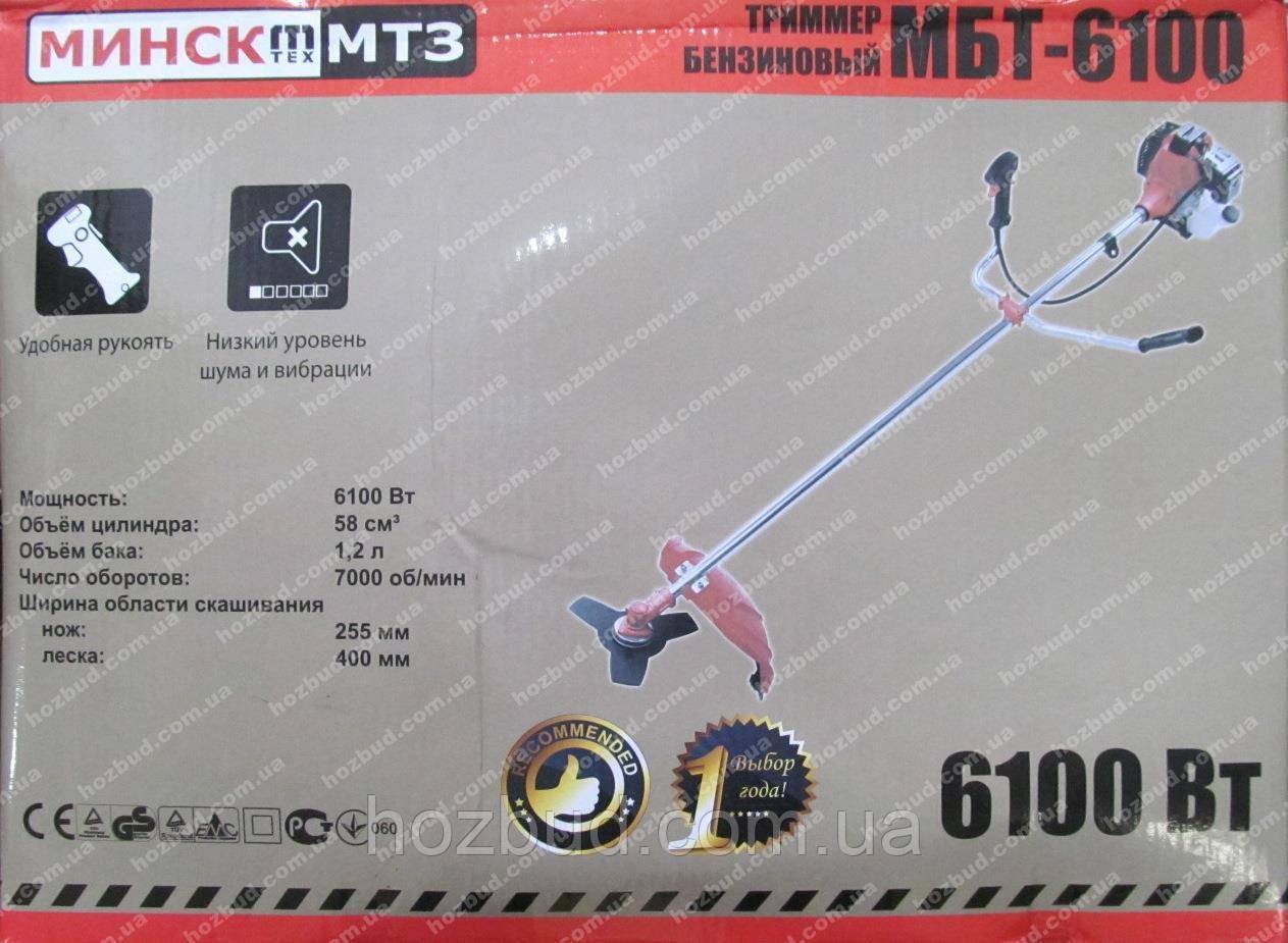 Бензокоса Мінськ МБТ-6100