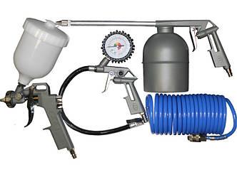 Набор лакокрасочный с верхним баком 5шт Miol E-80-990