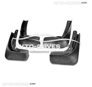 Брызговики Volkswagen Golf Sportsvan 2014-... (полный комплект 4-шт)