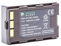 Аккумулятор PowerPlant JVC BN-V306U 820mAh