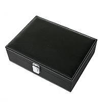 Коробка для часов 10 отделов (27*20*8см)