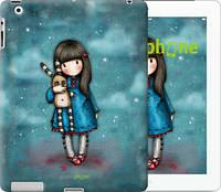 """Чехол на iPad 2/3/4 Девочка с зайчиком """"915c-25-532"""""""