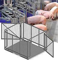 Весы для животных 0.75х1.25 метра