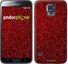 "Чехол на Samsung Galaxy S5 g900h Чехол цвета бордо ""2659c-24-532"""