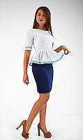 Оригинальная нарядная блуза-вышиванка, фото 1
