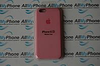 "Накладка оригинальная ""Apple Silicone Case"" для iPhone 6 / 6S Pink"