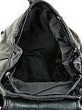 Городской женский рюкзак. Женский кожаный рюкзак. Стильный рюкзак. Качественный рюкзак., фото 3