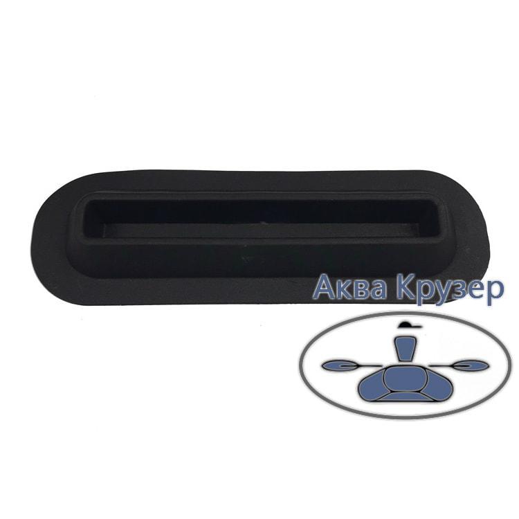 Опори для сидінь, симетричні, глибокі, колір чорний для надувних човнів ПВХ