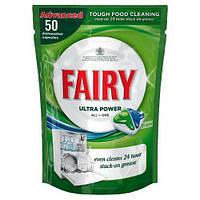 Капсулы для посудомоечных машин Fairy Ultra Power все в 1, 50 шт