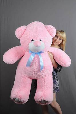 """Плюшевый мишка """"Вэтли"""", розовый, 140 см."""