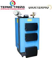 Котел твердотопливный утилизатор УкрТермо 100, 33 кВт.