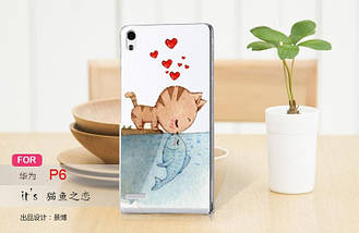 Печать на чехлах для Huawei P6, фото 3