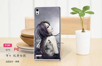 Печать на чехлах для Huawei P6, фото 2