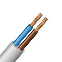 Провід ПВС 2х6 мм2 ЗЗЦМ ГОСТ мідний гнучкий Ціна за 1м Відрізаємо будь-яку кількість