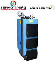 Котел твердотопливный утилизатор УкрТермо 200, 50 кВт.